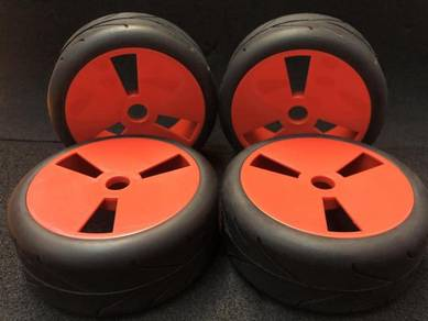 1/8 rc remote-gt -on road -buggy tyre set