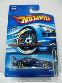 Hotwheels Dropstars Nissan Skyline #5 Dark Blue