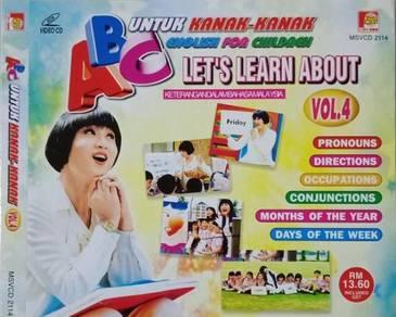 VCD ABC English For Children Untuk Kanak-kanak 4