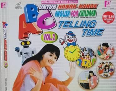 VCD ABC English For Children Untuk Kanak-kanak 2