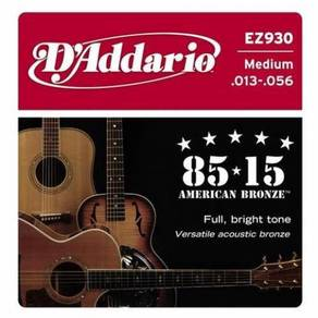 D'Addario EZ930 American Bronze Acoustic Strings