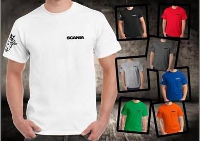 Baju T-Shirt SCANIA 5 NSQ296 siap poslaju