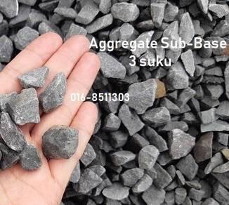 Sand rockstone batu kelikir pasir halus tanah soil