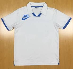 Nike White Ringer Collar Tee #24 Used