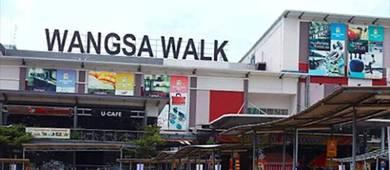 Bilik bersebelahan Wangsa Walk Mall & Aeon Big Wangsa Maju