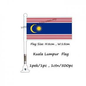 Kuala Lumpur flag with spring
