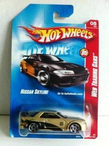 Hotwheels Web Trading Nissan Skyline #081 Gold
