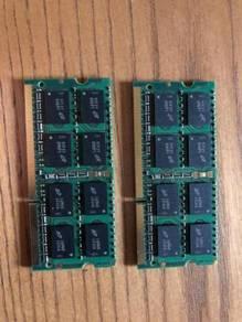 4gb pair of RAM memory cards