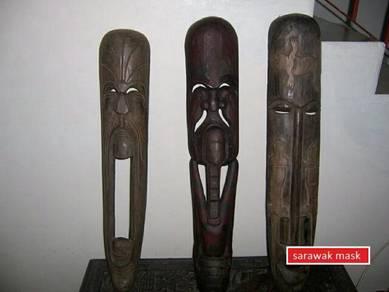 Sarawak wall wooden ornaments