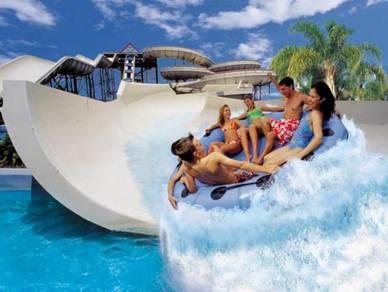 Wet & Wild Theme Park, Brisbane   AMI Travel