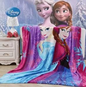 FROZEN ELSA ANNA Selimut Fleece Blanket [1.5X2M]