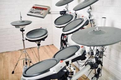 Yamaha DTXtreme IIs digital electronic drum set ki