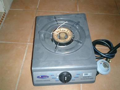 Gas hob cooker