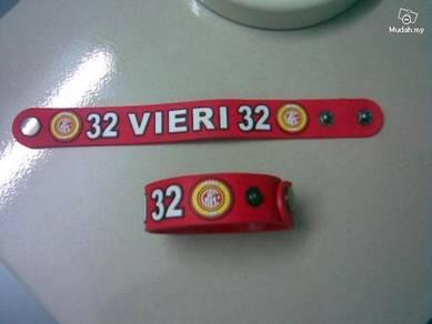 ABBS-I001 Silicone Inter Milan 32 VIERI Bracelet