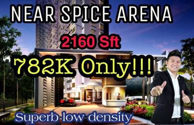 New condo | 2160 sft | 4+1 bedrooms | 4 cp | rm 782k only !!!