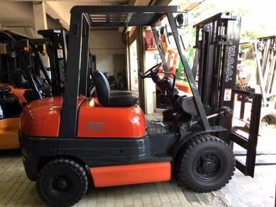 Japan Import 6FD TOYOTA 2.5 Ton Auto Diesel