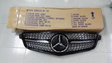 Mercedes Benz W204 Diamond Grille Grill