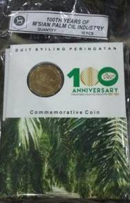 Malaysia Palm Oil Industry Coin Card 2017