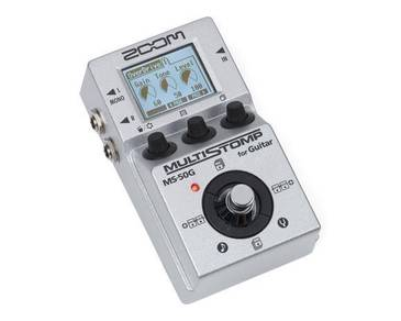 ZOOM MS-50G - Multistomp Guitar Pedal