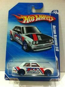 Hotwheels Datsun Bluebird 510 #097 White
