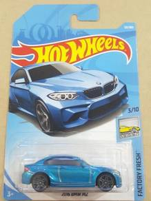 HotWheels 2016 BMW M2 Blue 2018