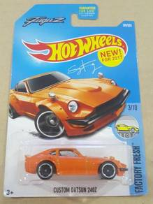 HotWheels Custom Datsun 240Z Orange US Card