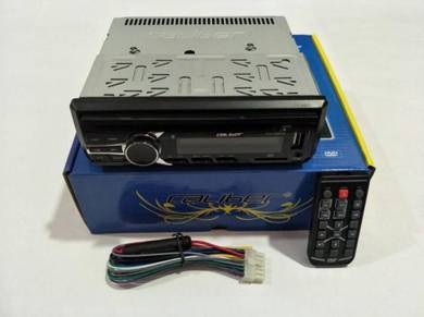 Caliber Single Din DVD/USB/AUX/FM Player(CHU88DVD)