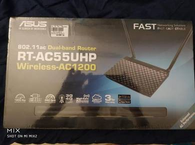 Asus RT-AC55UHP - AC1200 Dual-Band Wi-Fi Router