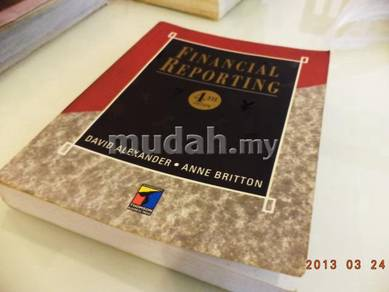 Text Book - Financial Reporting
