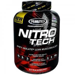 Muscletech Nitro tech protein susu gym whey