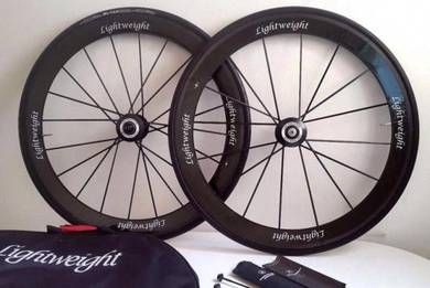 Lightweight Obermayer Carbon Tubular Road Wheelset