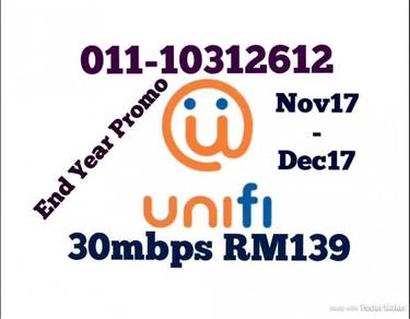 End Year unifi Sales