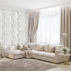 Good grey flower Vertical wallpaper w proview