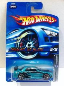 Hotwheels Dropstars Nissan Skyline #5 Teal