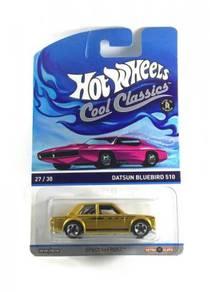 Hotwheels Cool Classics Datsun Bluebird 510 #27