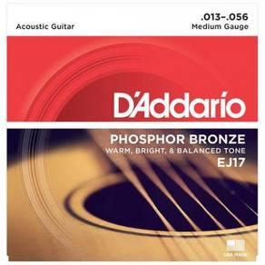 D'Addario EJ17 Phosphor Bronze Acoustic Strings