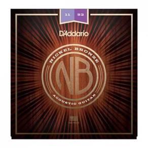 D'Addario NB1152 Nickel Bronze Acoustic Strings