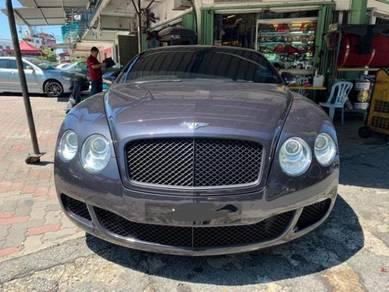 Bentley GT Flying Spur Facelift Bumper Bodykit