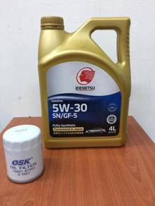 Idemitsu Engine Oil 5W30 SN/GF-5 Fully Synthetic