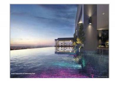 Freehold New Condo Completion 2020 At Bandar Puteri 883sf 0% D/P
