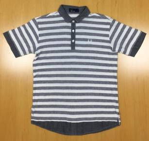 Fred Perry Stripes Collar Tee #2 Used