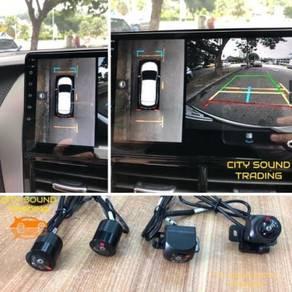 Honda Accord 360 Surround BirdView Camera
