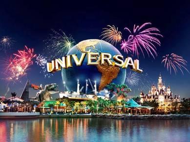 3D2N Singapore Universal Studios Adventure Cove
