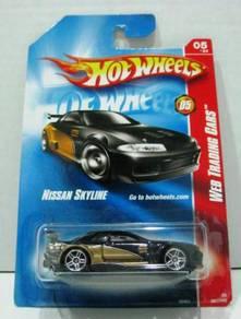 Hotwheels Web Trading Nissan Skyline #081 Black
