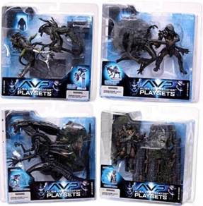Mcfarlane avp alien vs predator movie diorama play