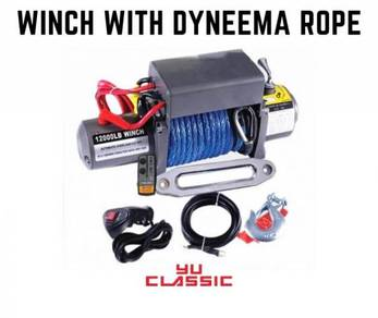 12000lb DYNEEMA ROPE WINCH