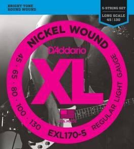EXL170-5 Nickel Wound 5-String Bass