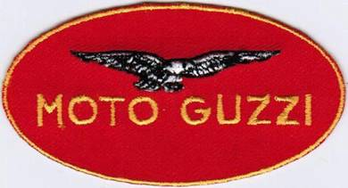 Moto Guzzi Racing Team Motorcycle Badge Patch