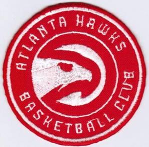 NBA Atlanta Hawks National Basketball Badge Patch