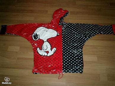 Snoopy Kid Rain Jacket